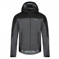 Kilpi Hurricane-M rainjacket, men, grey