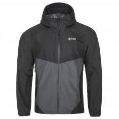Kilpi Hurricane rain jacket, men, grey