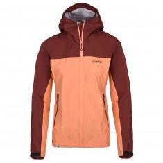 Kilpi Hurricane rain jacket, women, bordeaux/pink