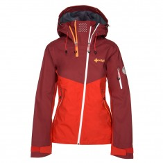 Kilpi Metrix ski jacket, women, dark red