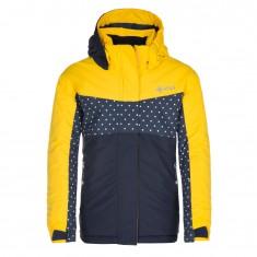 Kilpi Mils-JG, ski jacket, kids, yellow