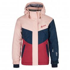 Kilpi Mils, ski jacket, junior, light pink
