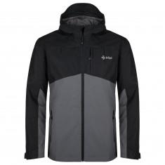 Kilpi Orleti, rain jacket, plus size, men, dark grey