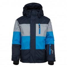 Kilpi Ormes-JB, ski jacket, junior, dark blue