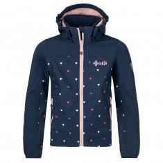 Kilpi Ravia, softshell jacket, junior, dark blue