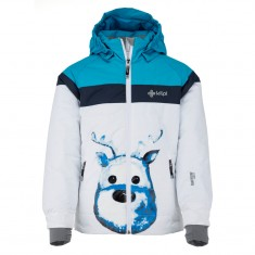 Kilpi Synthia-JG, ski jacket, junior, white