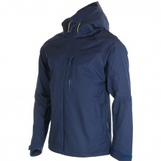 4F Leslie, rain jacket, men, blue