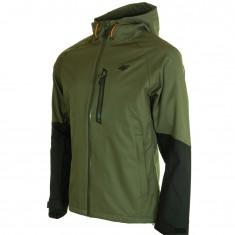 4F Leslie, rain jacket, men, khaki