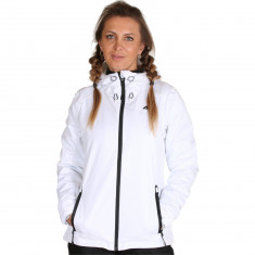 4F Linda, rain jacket, women, white