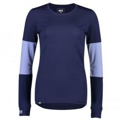 Mons Royale Cornice LS, skiunderwear, women, navy blue fog