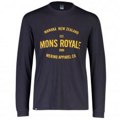 Mons Royale Icon LS, men, 9 Iron