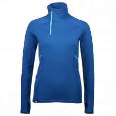 Mons Royale Olympus 3.0 Half Zip, base layer, oily blue