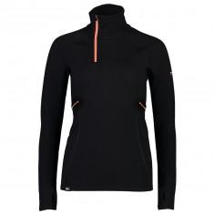 Mons Royale Olympus 3.0 Half Zip, skiunderwear, women, black