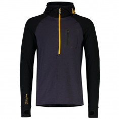 Mons Royale Traverse Midi Half Zip, men, Iron Gold