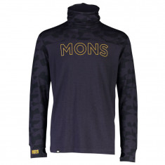 Mons Royale Yotei Powder Hood, men, iron camo