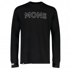 Mons Royale Yotei Tech LS, men, black