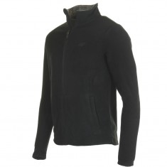 4F Monta mens fleece jacket, black