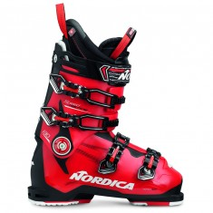 Nordica Speedmachine 130, ski boots, men, black/red
