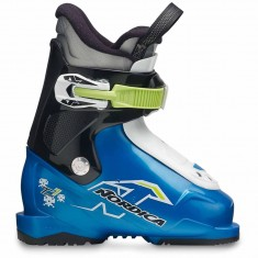 Nordica Team 1, kids skiboots, blue
