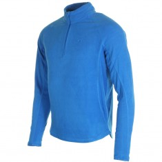 4F Odin Microtherm mens fleece midlayer, cobalt blue