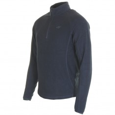 4F Odin Microtherm mens fleece midlayer, navy