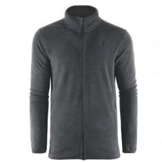 Outhorn fleece shirt, men, dark grey melange