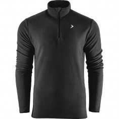 Outhorn Midelo 1/4 zip fleecepulli, mens, black