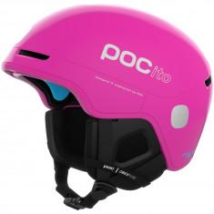 POCito Obex SPIN, ski helmet, fluorescent pink