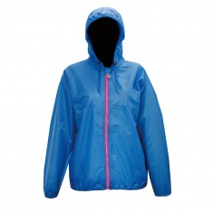 2117 of Sweden Viared, womens Rain jacket, blue
