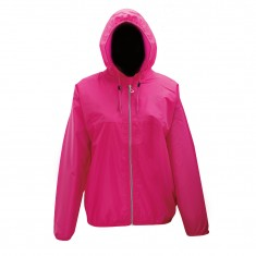 2117 of Sweden Viared, womens Rain jacket, pink