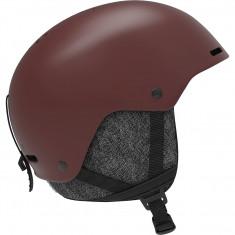 Salomon Brigade+, helmet, dark red