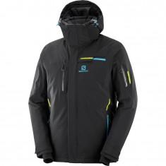 Salomon Brilliant JKT M, ski jacket, men, black