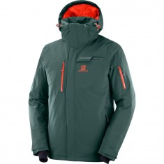 Salomon Brilliant JKT M, ski jacket, men, green