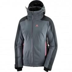 Salomon Brilliant JKT W, ski jacket, women, grey