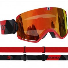 Salomon Cosmic, goggles, red