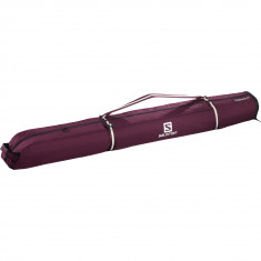 Salomon Extend 1p 165+20 skibag, winered