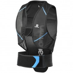 Salomon Flexcell Men ski back protector, Black/Blue