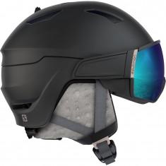 Salomon Mirage S, helmet with visor, black/rose