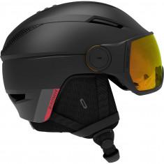 Salomon Pioneer Visor Photo, visor helmet, black/red