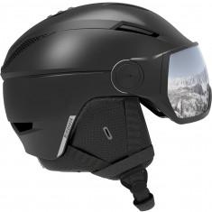 Salomon Pioneer Visor, visor helmet, black/silver