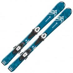 Salomon QST MAX Jr S + C5 GW, blue/white