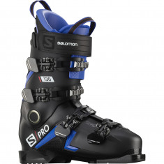 Salomon S/PRO 130 boots, men, black/race blue