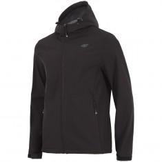 4F Sammy, softshell jacket, men, black