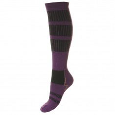 Seger Alpine Plus Protection, womens wool Ski Socks, lillac