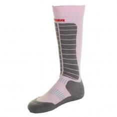 Seger Evolution, Ski Socks, rose/grey