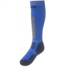Seger Zone, Mens Ski Socks, blue