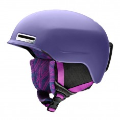 Smith Allure ski helmet, women, matte dusty lilac