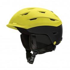 Smith Level MIPS ski helmet, matte yellow/black