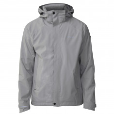 Tenson Biscaya EVO rain jacket, men, grey