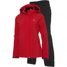 Tenson Biscaya, womens Rain set, red